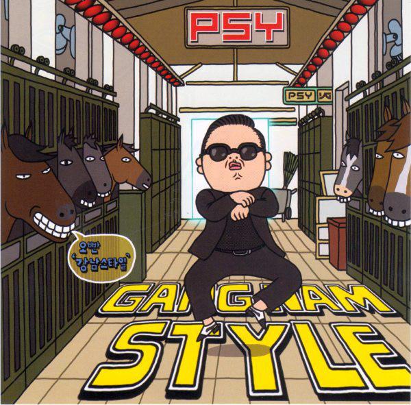 PSY - Gangnam Style (Photo: AlbumCover)