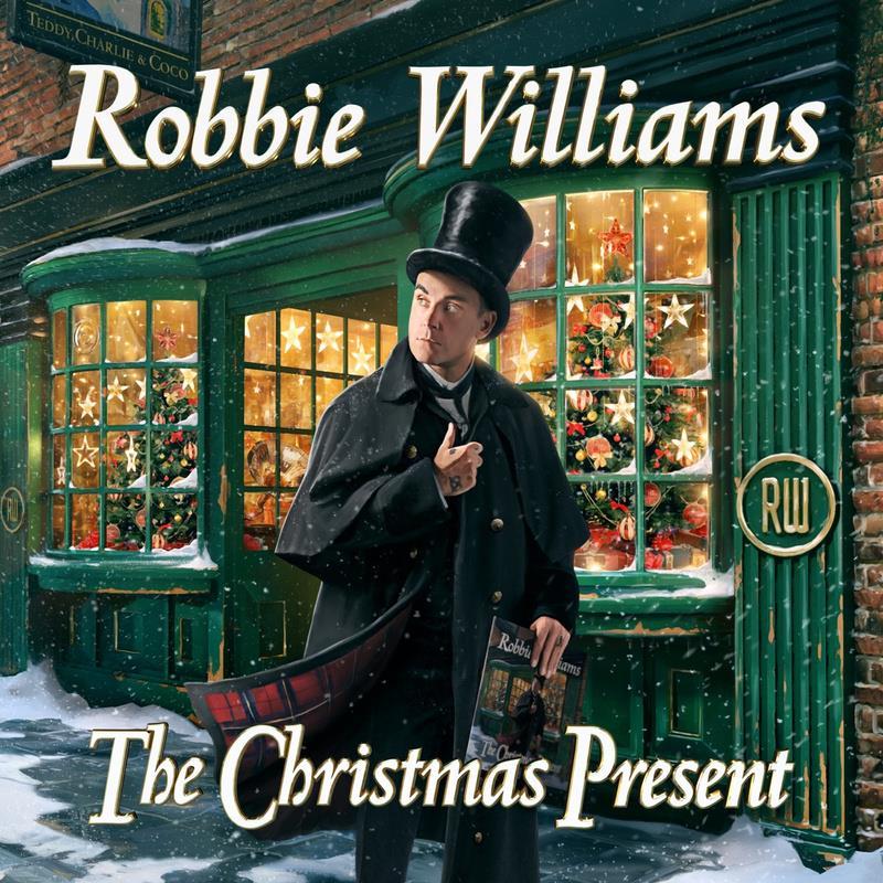 Robbie Williams - The Christmas Present (Photo: Music Entertainment)