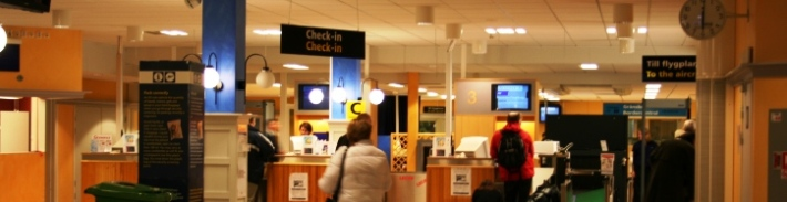 News Image Karlstad Airport Inside (Photo: MusicPartner)