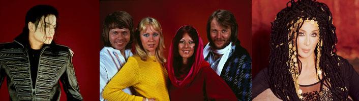 News Image Michael Jackson ABBA Cher