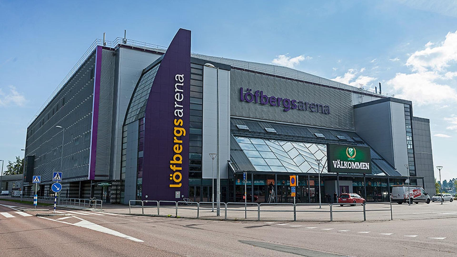 Reference Löfbergs arena