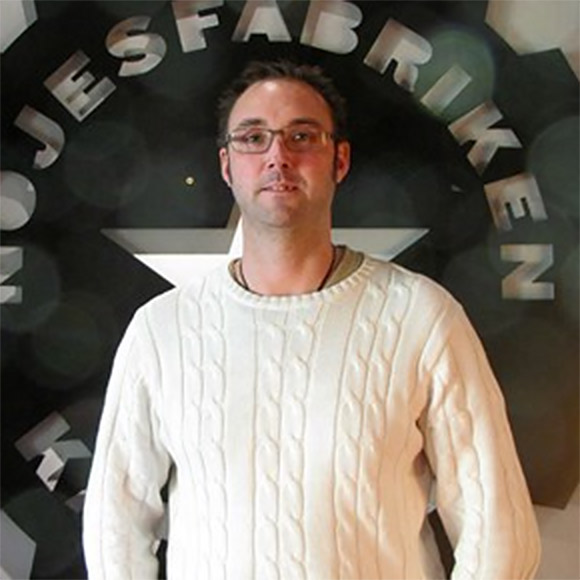 Reference Nöjesfabriken Peter Eriksson