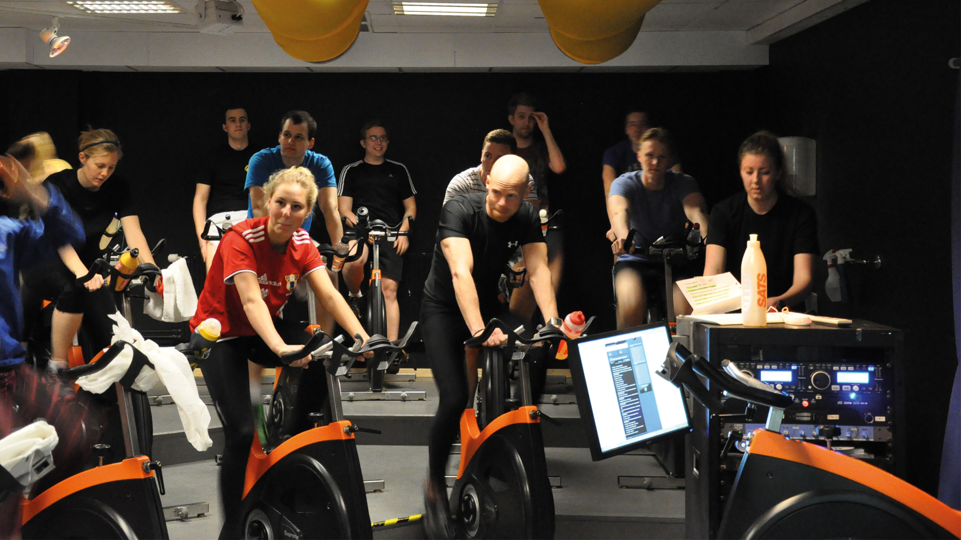 InTraining Spinning SATS (Photo: MusicPartner)